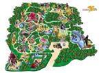 Mapa del Manatí Park
