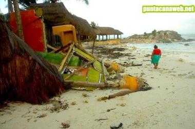 Huracanes en Punta Cana