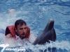 Nadando con delfines en Manatí Park