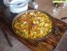 Paella de marisco del restaurante El Pulpo Cojo